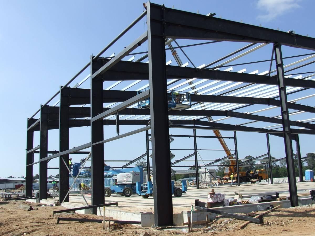 Structural Steel Portal Frames - Network Steel